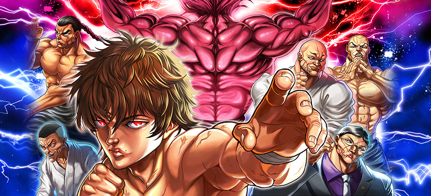 baki the grappler  ultimate championship annunciato per mobile  u2013 akiba gamers