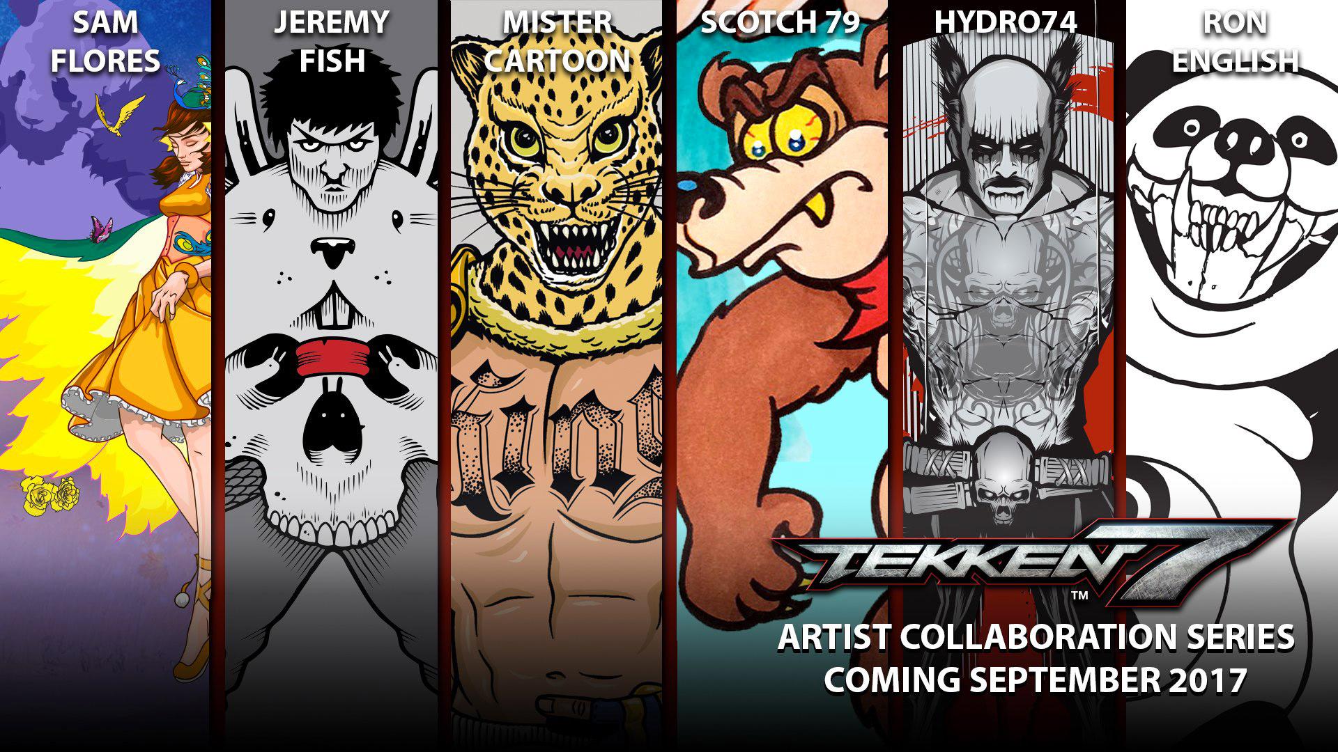 TEKKEN 7 accoglie nuovi artisti per un DLC gratuito