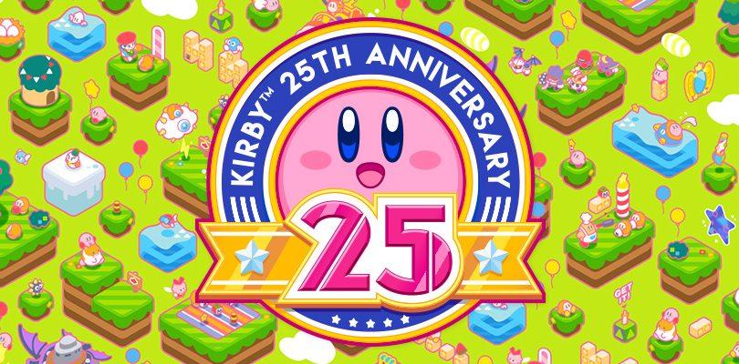 Kirby festeggia venticinque anni con un video