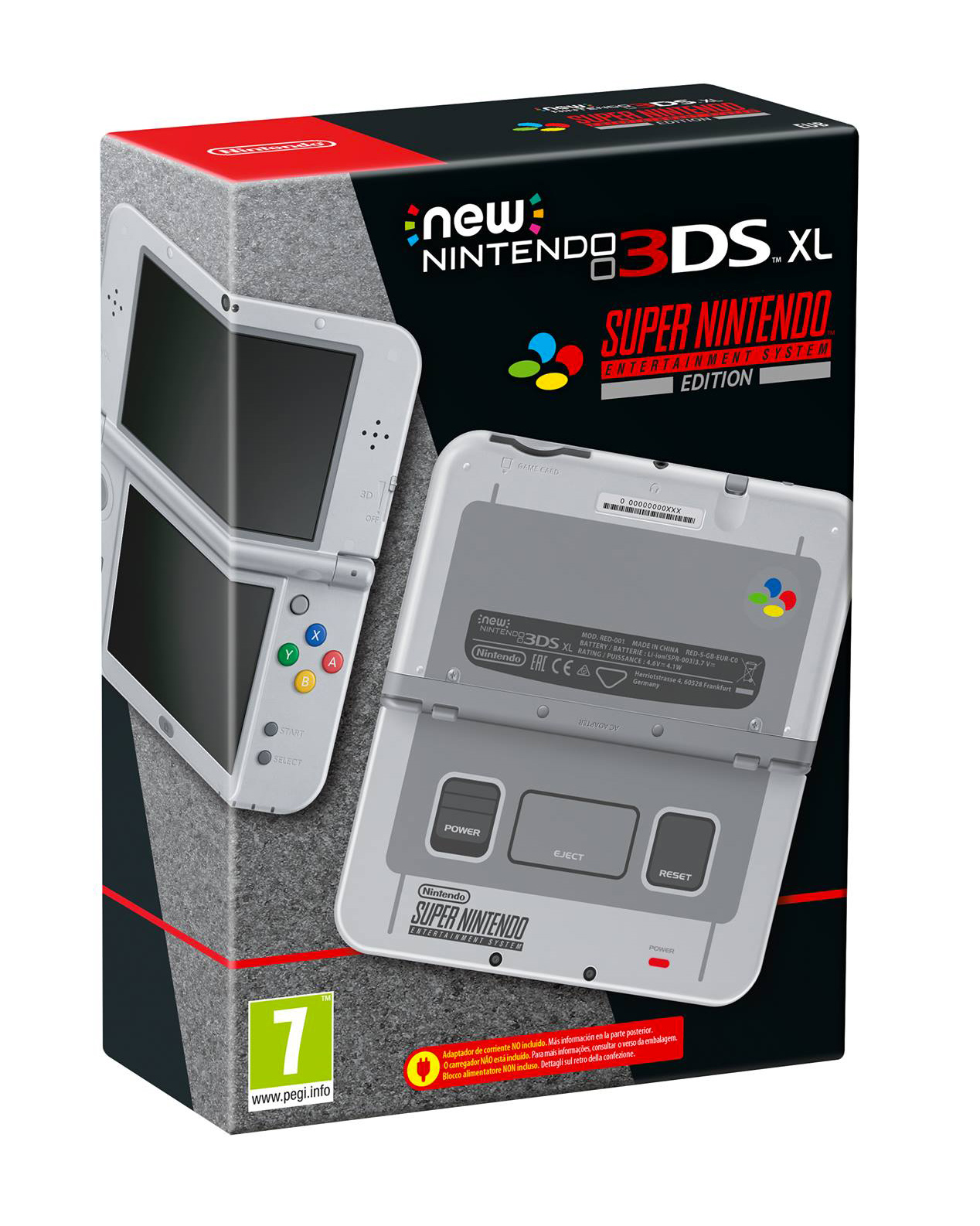 New Nintendo 3DS XL – Super Nintendo Entertainment System Edition