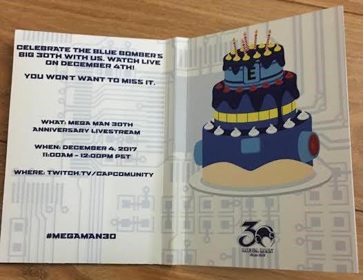 Mega Man - 30 anniversario