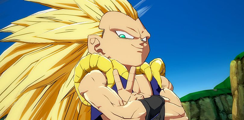 DRAGON BALL FighterZ: gameplay per Gotenks