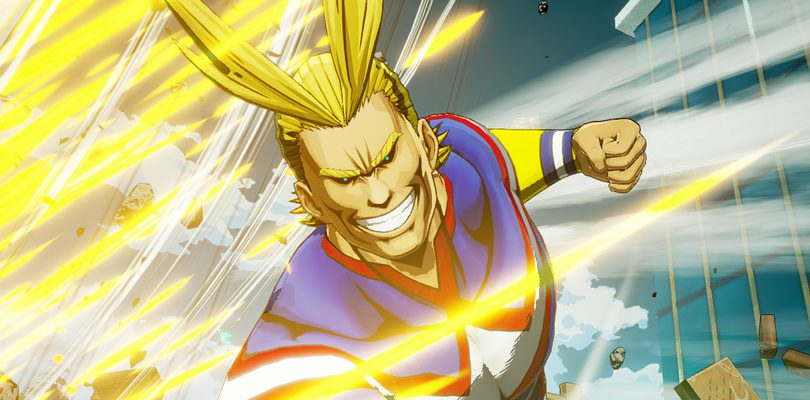 My Hero Academia: One's Justice accoglie il potente All Might