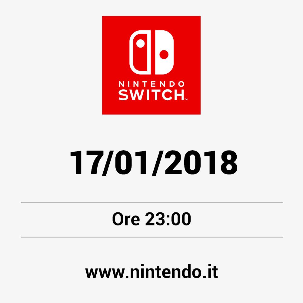 Nintendo Switch: qualcosa di nuovo ci attende alle 23