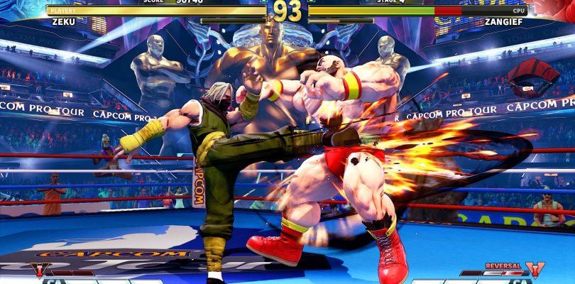 Street Fighter V Arcade Edition una manutenzione straordinaria per migliorare l'input lag
