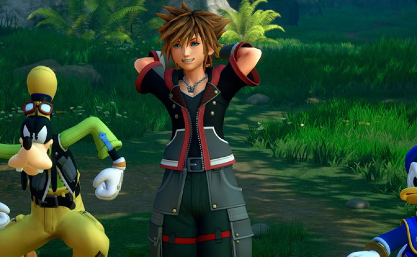KINGDOM HEARTS III / hands-on