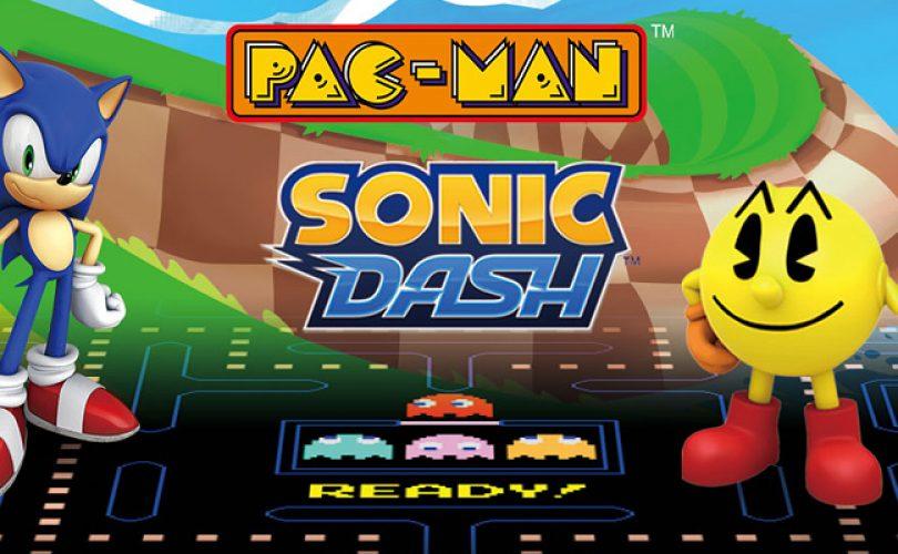 PAC-MAN e Sonic Dash