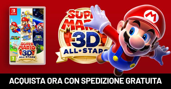Mario 3D All Stars con spedizione gratuita