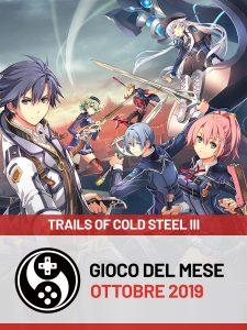 Trails of Cold Steel III - Gioco del mese di ottobre 2019