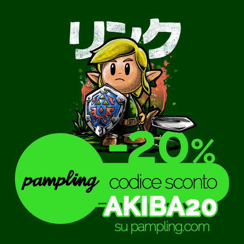 Maglietta Pampling Zelda Link's Awakening