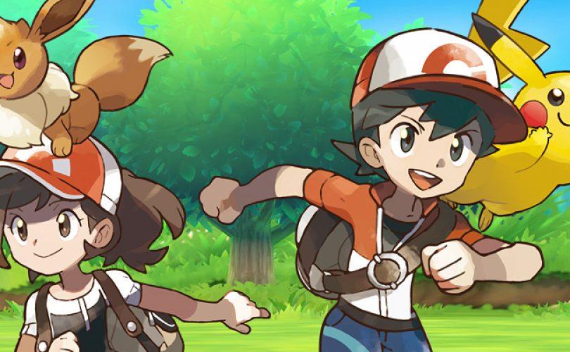 Pokémon Let's GO, Pikachu & Eevee