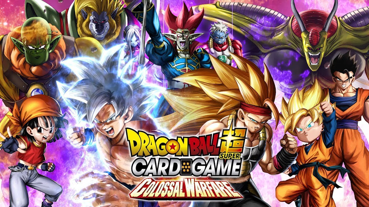 dragon ball super card game  introdotta la quarta serie colossal warfare  u2013 akiba gamers