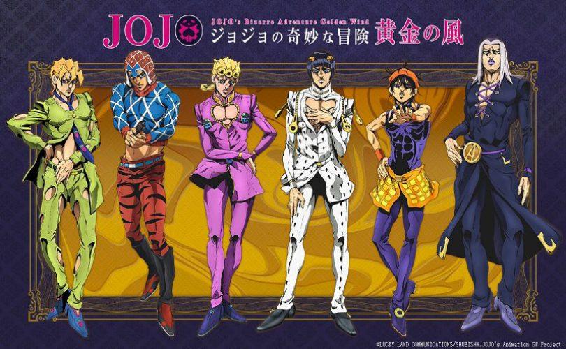 JOJO's Bizarre Adventure: annunciato l'anime di Vento Aureo