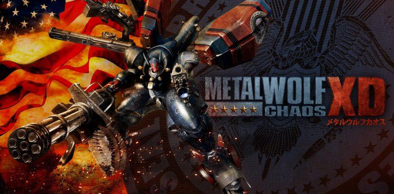 Metal Wolf Chaos XD annunciato per PS4, Xbox One e PC