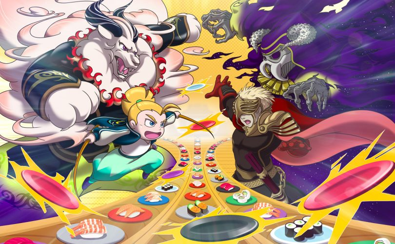 Sushi Striker: The Way of Sushido - Recensione