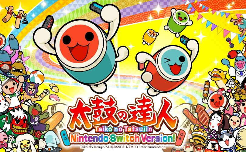 Taiko Drum Master: Nintendo Switch Version! – una data per la versione asiatica in inglese