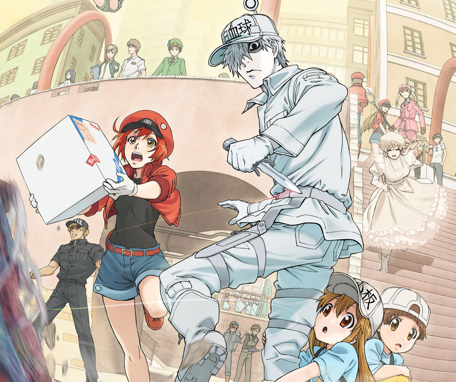 cells at work  in italiano sul canale youtube di yamato animation  u2013 akiba gamers