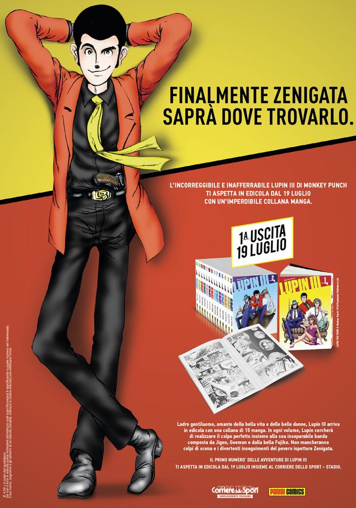 Lupin III Corriere dello Sport