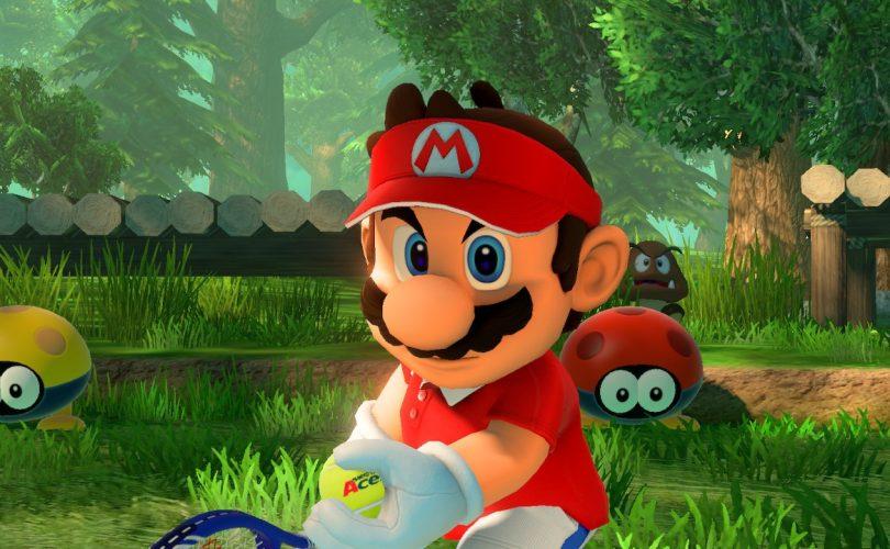 Mario Tennis Aces: trailer per Skelobowser