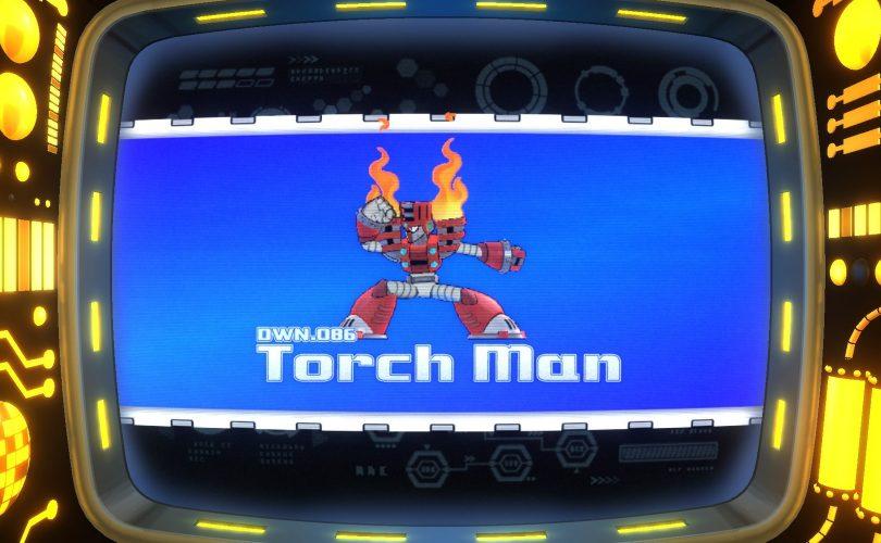 Mega Man 11 accoglie il nuovo boss Torch Man