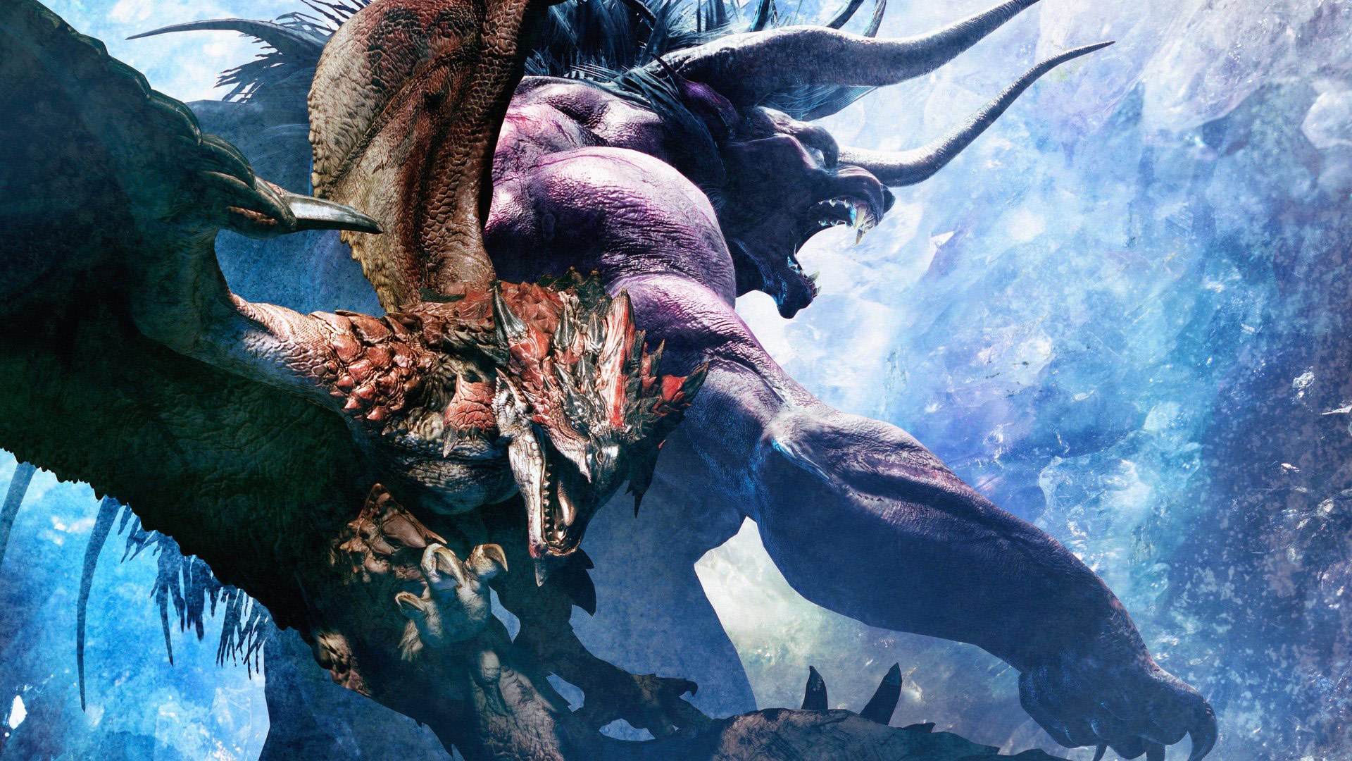 FINAL FANTASY XIV x MONSTER HUNTER: WORLD - Behemoth