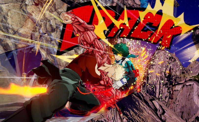 MY HERO ONE'S JUSTICE: la rivista Jump anticipa il terzo personaggio DLC