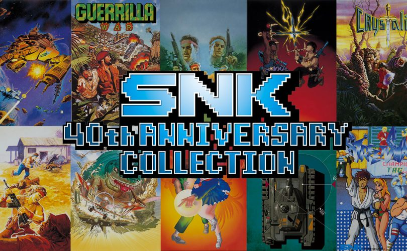 SNK 40th ANNIVERSARY COLLECTION - Ikari / post-lancio