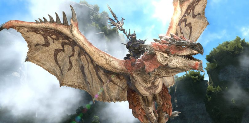 FINAL FANTASY XIV: al via la collaborazione con MONSTER HUNTER: WORLD