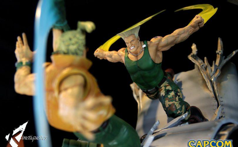 Street Fighter: Kinetiquettes svela il diorama di Guile e Charlie