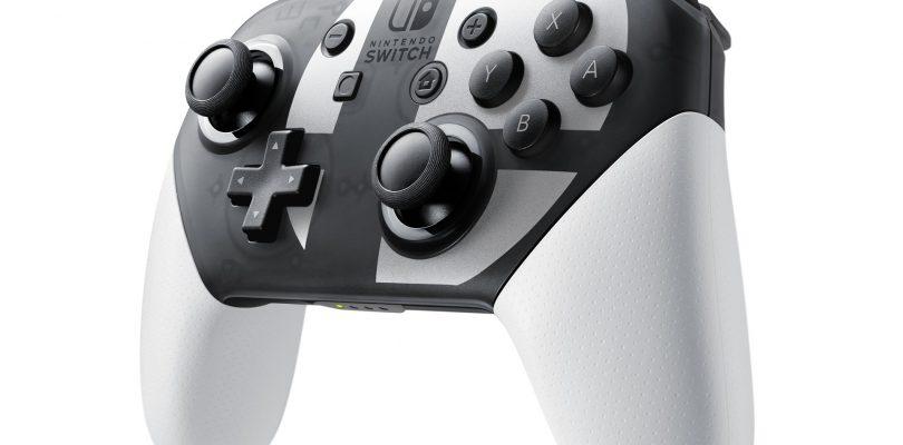 Nintendo Switch: ecco il Pro Controller di Super Smash Bros. Ultimate
