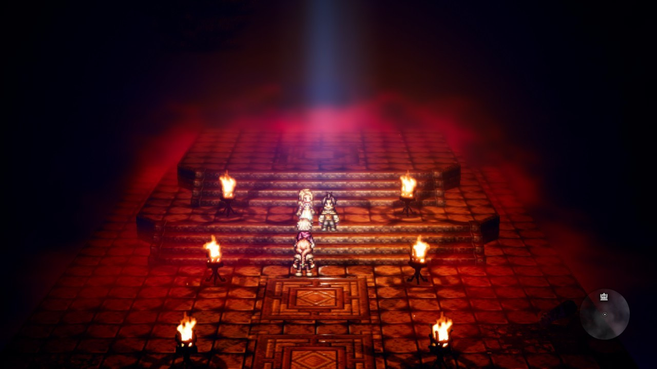 OCTOPATH TRAVELER - Dungeon Segreto