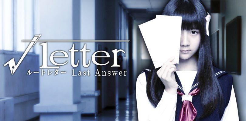 Root Letter: Last Answer – Presentata l'attrice che interpreterà Aya Fumino