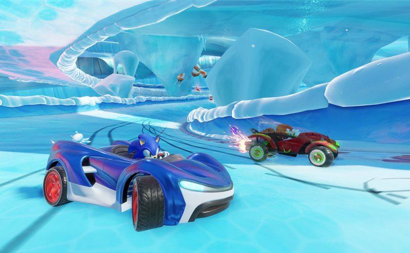 Team Sonic Racing / diretta