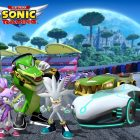Team Sonic Racing accoglie Vector the Crocodile, Blaze the Cat e Silver the Hedgehog