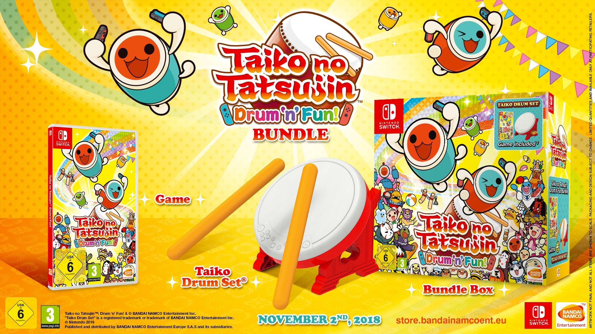 Taiko no Tatsujin: Drum 'n' Fun