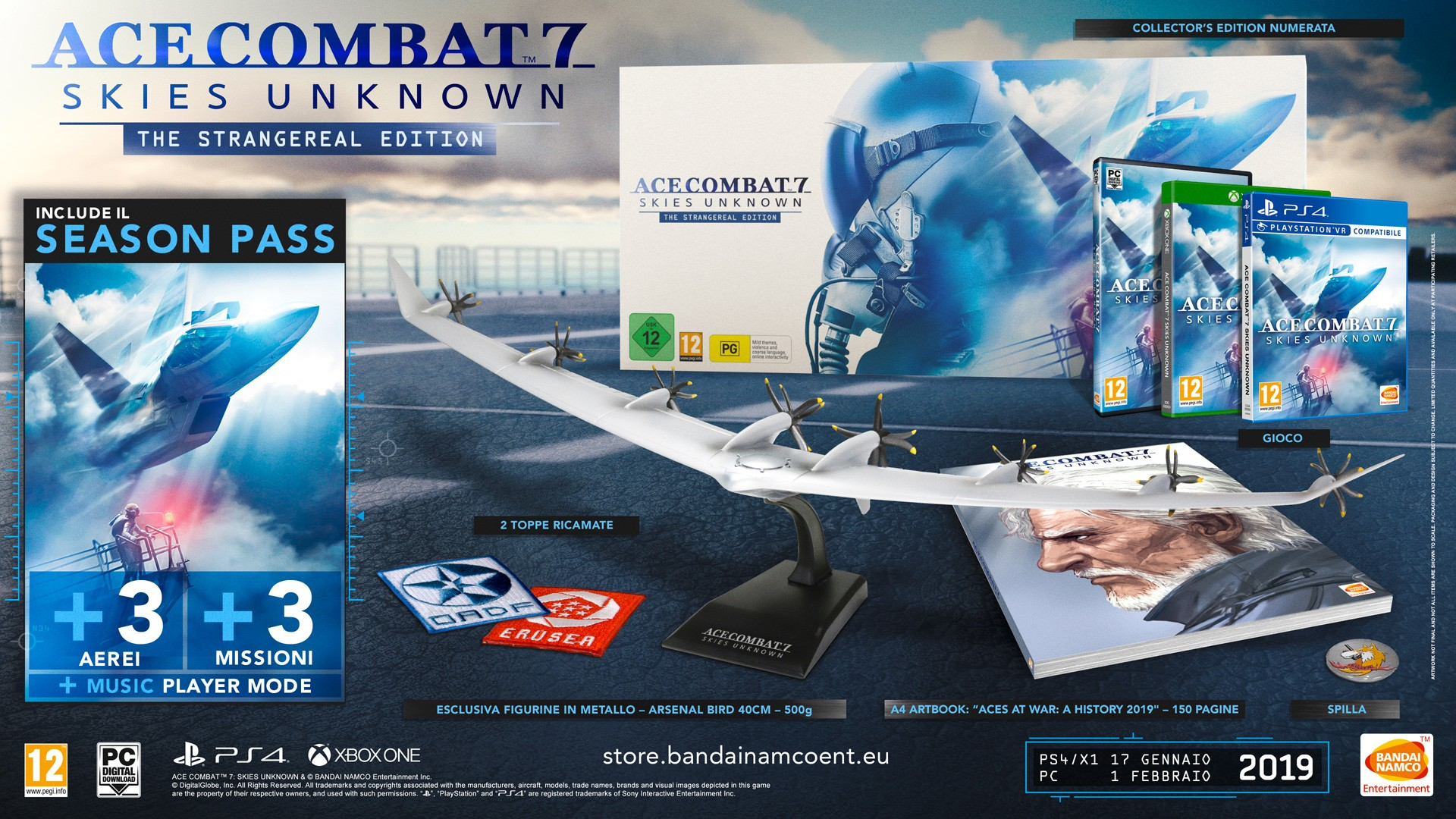 ACE COMBAT 7: SKIES UNKNOWN - Collector's Edition