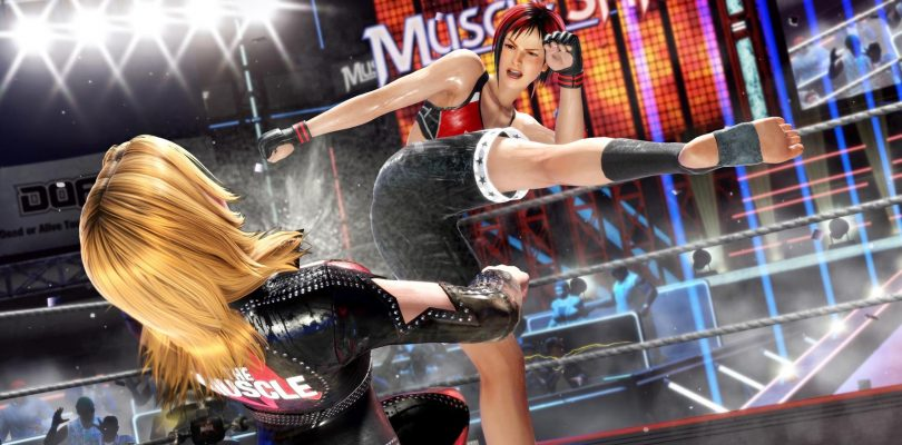 DEAD OR ALIVE 6 accoglie Bass, Tina e Mila