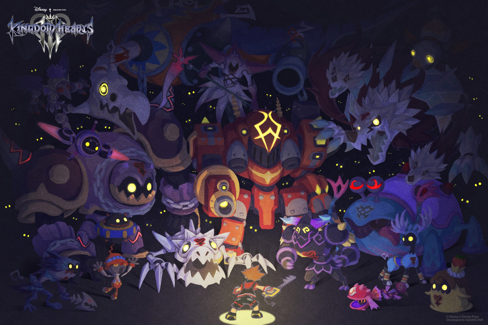KINGDOM HEARTS III celebra Halloween