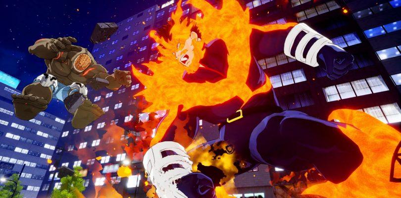 MY HERO ONE'S JUSTICE: Arcade Mode e due personaggi DLC disponibili al lancio