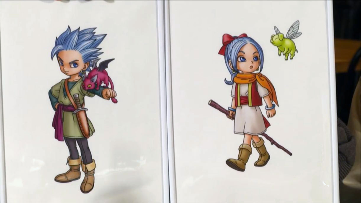 DRAGON QUEST Monsters - Erik e Mia