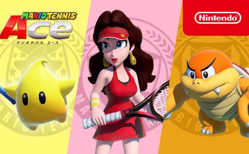 Mario Tennis Aces: trailer per Boom Boom, Pauline e Sfavillotto
