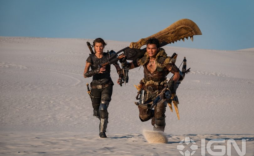 MONSTER HUNTER: l'ultima immagine dal set ci mostra un cacciatore