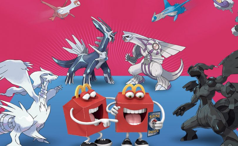 I Pokémon Leggendari nell'Happy Meal di McDonalds