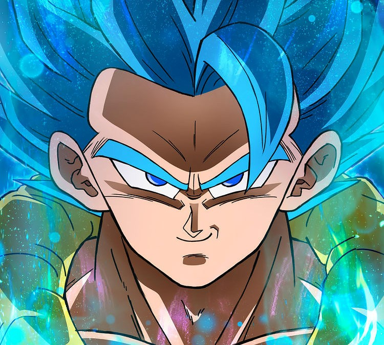 Dragon Ball Super: Broly - Gogeta SSJ Blue