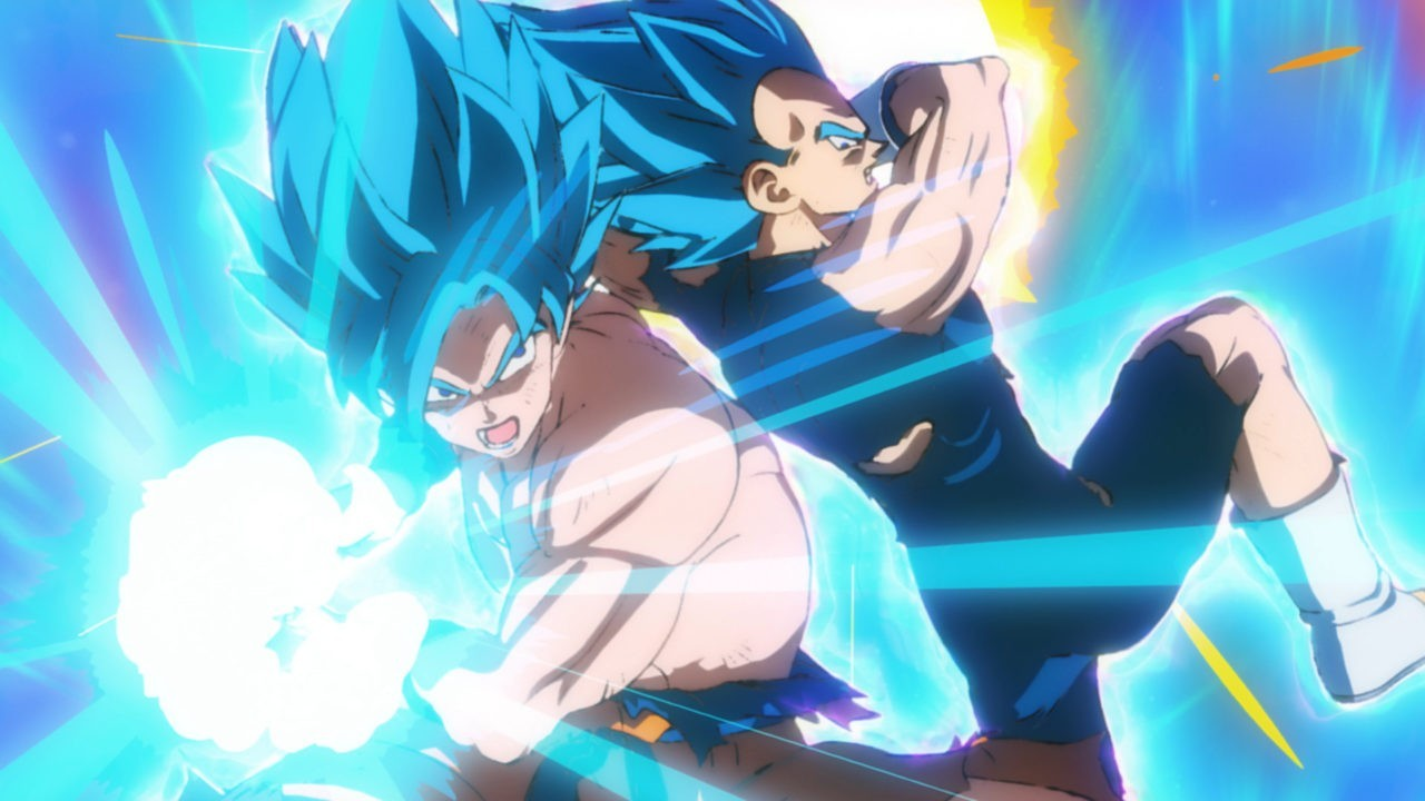 Dragon Ball Super: Broly - Goku e Vegeta SSJ Blue