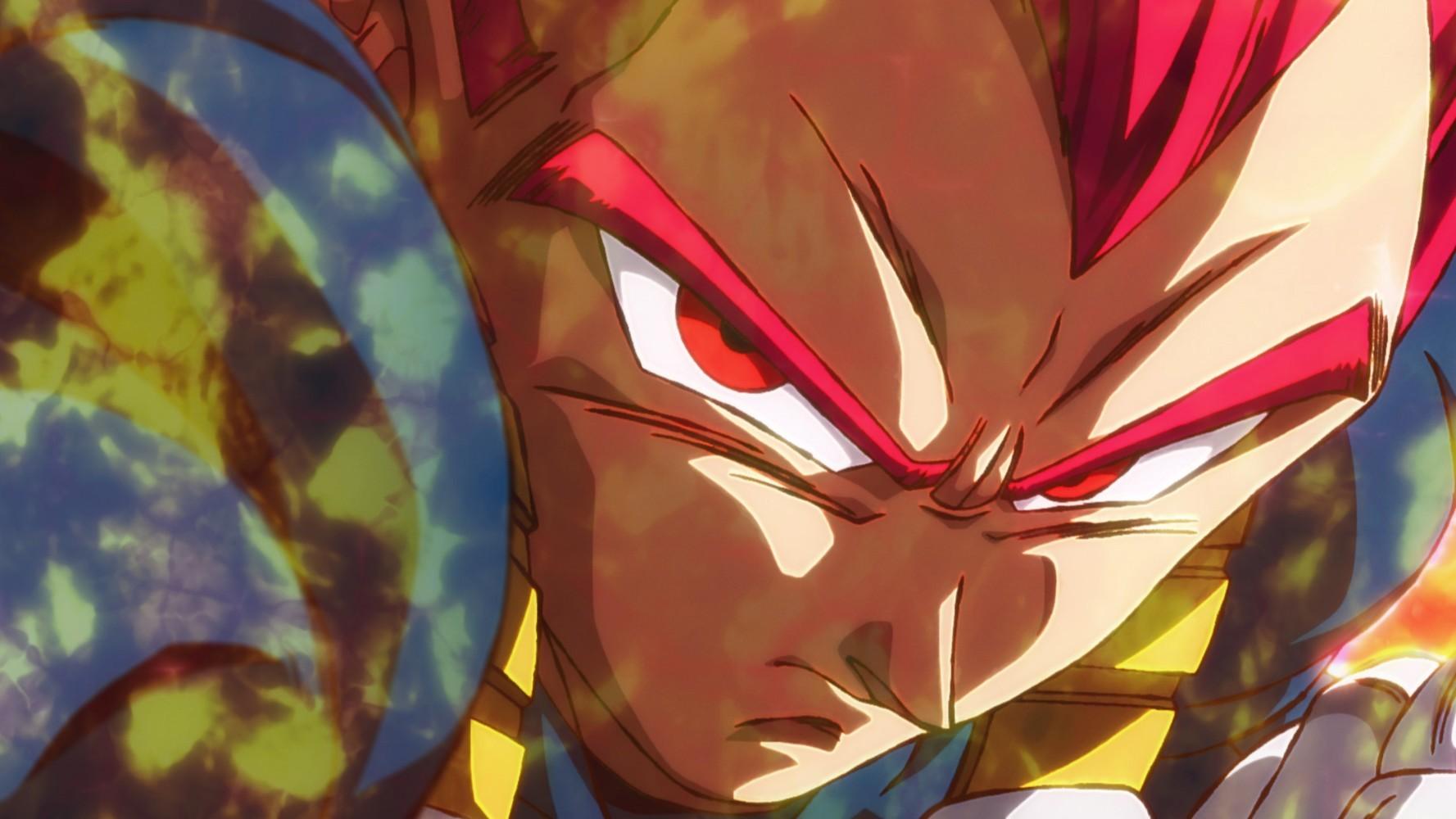Dragon Ball Super: Broly - Vegeta SSJ God