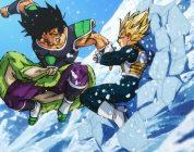 Dragon Ball Super: Broly - Broly VS Vegeta SSJ