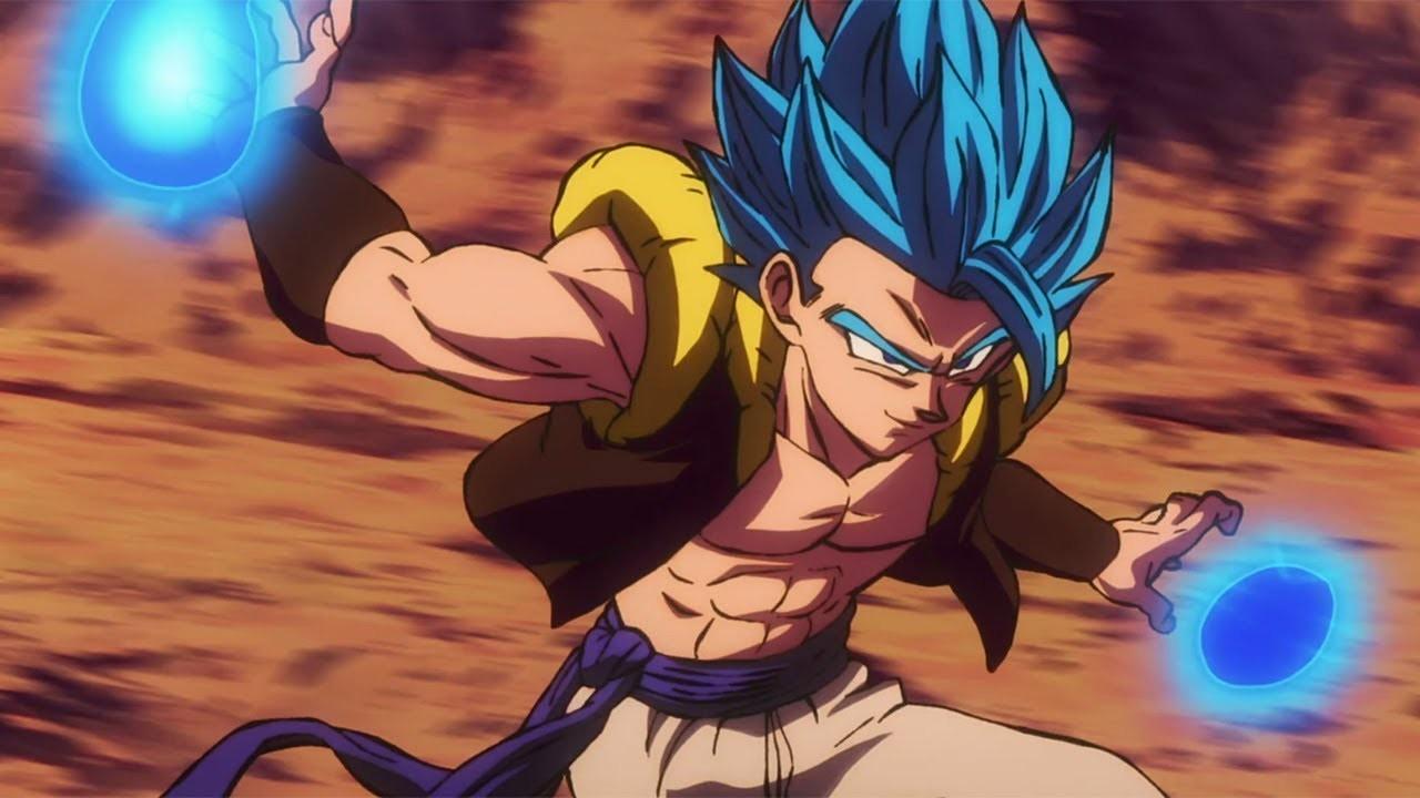 Dragon Ball Super: Broly - Gogeta SSJ Blue