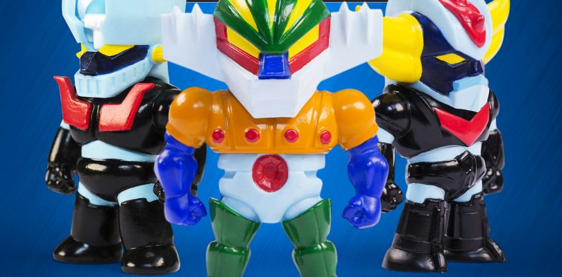 Go Nagai Robot Mini Figures disponibili in edicola