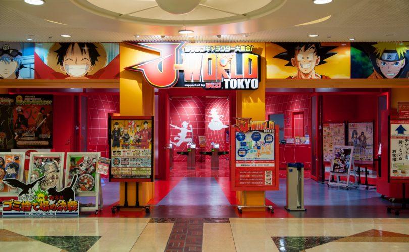 Chiude il J-World Tokyo, il parco a tema Shonen Jump